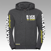 Backwood Hooligas® Avantgarde hoodie with zipper