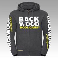 Backwood Hooligans® Avantgarde huppari vetoketjulla