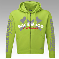 Backwood Hooligas® Limited Edition hoodie with zipper