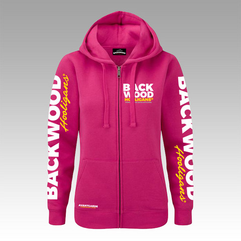 Backwood Hooligans® Avantgarde hoodie for women