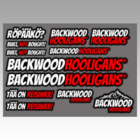 Backwood Hooligans® Tarrasarja 1