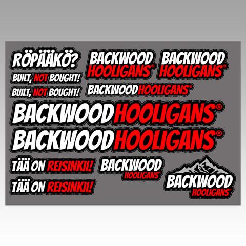 Backwood Hooligans® Tarrasarja 1