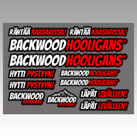 Backwood Hooligans® Tarrasarja 2