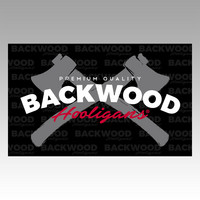 Backwood Hooligans® Flag (axes)
