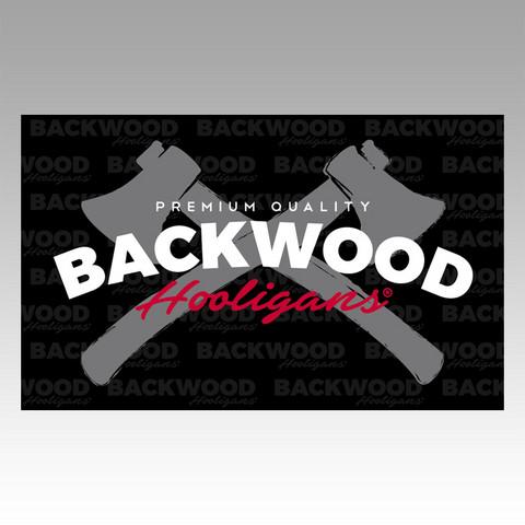 Backwood Hooligans® Lippu (kirveslogo)