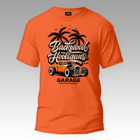Backwood Hooligans® Garage T-paita