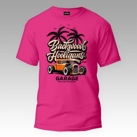 Backwood Hooligans® Garage T-shirt
