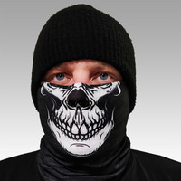 Backwood Hooligans® Multifunctional Face Shield (skull)