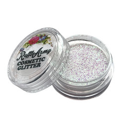 Soap Bubble IRIDESCENT WHITE glitter
