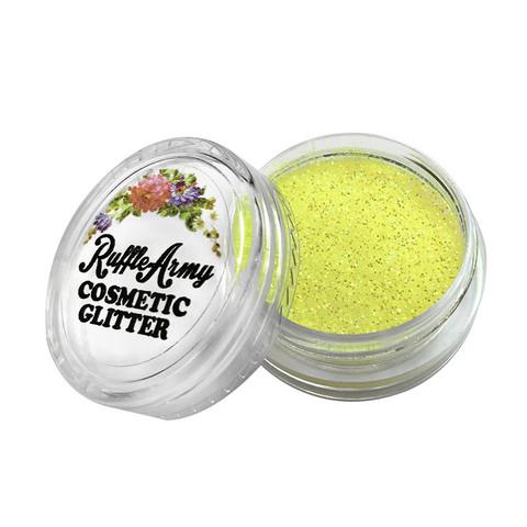 Marshmellow YELLOW glitter