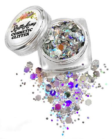 Siren SILVER glitter mix