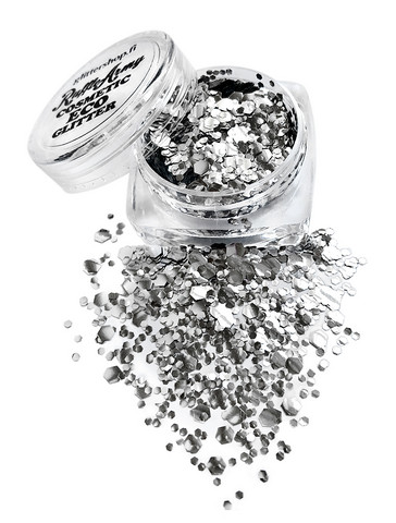 Surreal SILVER ECO glitter mix