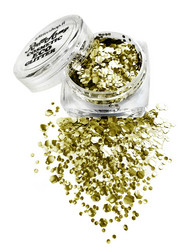 Glorious GOLD ECO glitter mix
