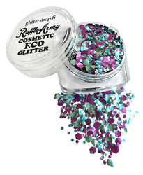 Peacock Parade ECO glitter mix SPARKLE