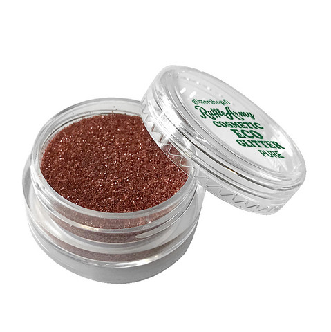 Vintage RED Rust ECO glitter PURE