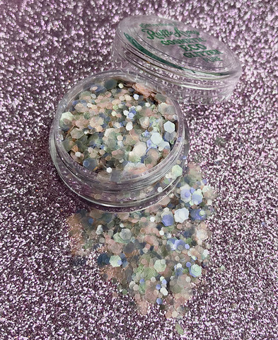 Bubblegum Pastels ECO Glitter Mix PURE