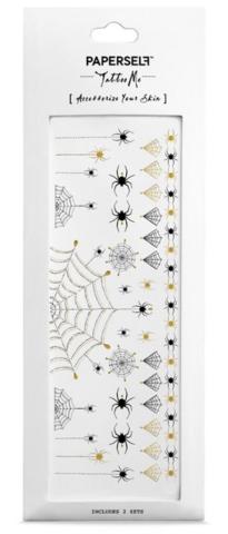 Siirtotatuointi hämähäkinseitti