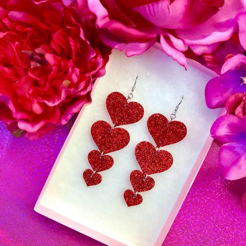 TWINKLE TWINKLE BIG HEART -glitterkorvakorut