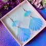 Seashell Fantasy -simpukkakorvakorut hologrammi
