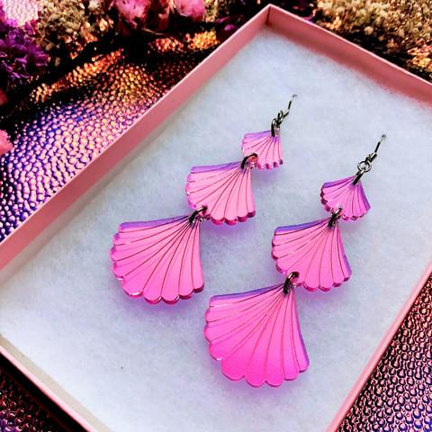 Hologrammipinkit Seashell Secrets -korvakorut