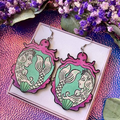 Mermaid Mirage -korvakorut