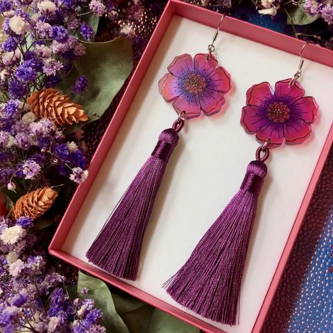 Floral Fantasy -tasselikorvakorut
