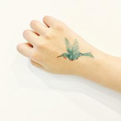 Siirtotatuointi kolibri
