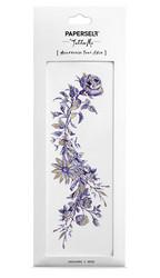 Siirtotatuointi violetti kukka