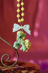Omenaisenvihreä My Little Pony -kaulakoru