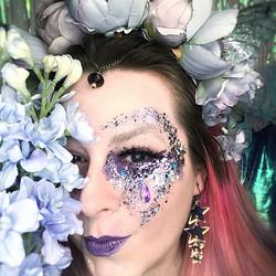 Glittermeikkausta keijun kanssa la 24.4.2021 klo 15:00