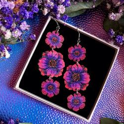 Floral Obsession  -korvakorut