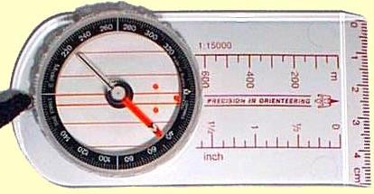 Moscompass 3C, huippunopea levykompassi