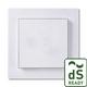 Huoneilma-anturi FTW06 dS Gira E2 pure white