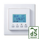 Huoneilma-anturi FTW06 LCD dS Gira E2 pure white