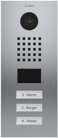 DoorBird IP Video Oviasema - D2103V