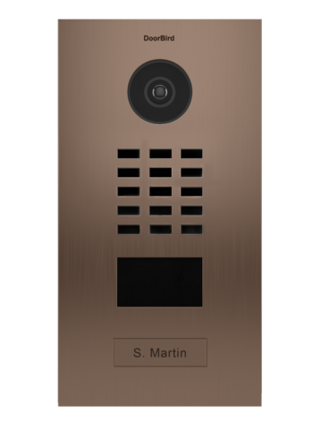 DoorBird IP Video Oviasema Pronssi - D2101BV