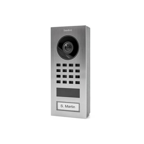 DoorBird IP Video Oviasema - D1101V Pinta-asennus