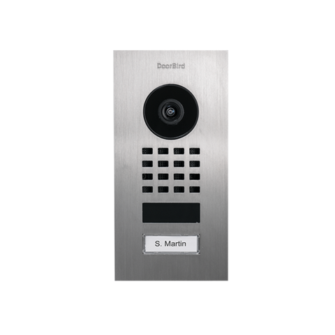 DoorBird IP Video Oviasema - D1101V Uppoasennus