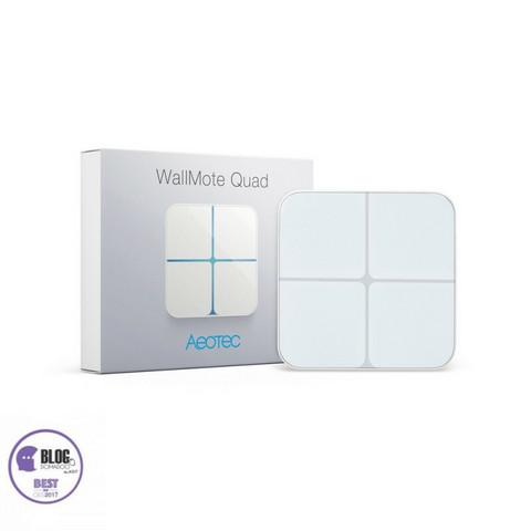 AEOTEC - Z-Wave+ WallMote Quad Tilanneohjain