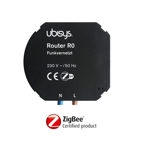 Ubisys Smart Home R0 ZigBee router toistin