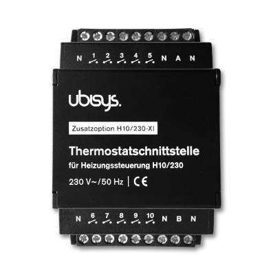 Ubisys Termostaattiliitäntä H10/230-XI (Lisämoduuli H10:lle) 230V
