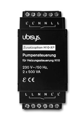 Ubisys Pumpun ohjaus H10-XP (Lisämoduuli H10:lle)