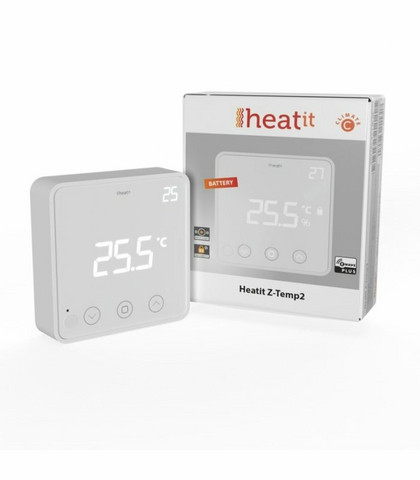 Heatit Z-Temp2 - Z-wave Huonetermostaatti
