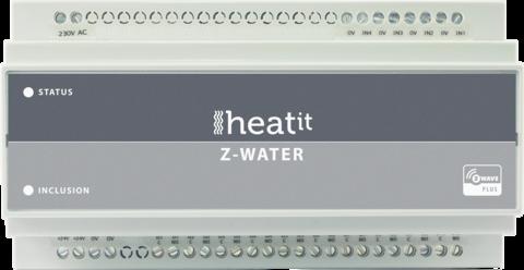 Heatit Z-Water - 10 piirinen Z-wave Lämmitysohjain