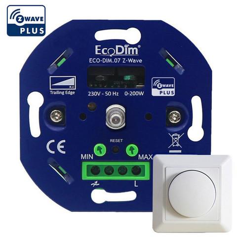 ECODIM - Smart LED Kierrettävä himmennin - Z-Wave Plus 200W