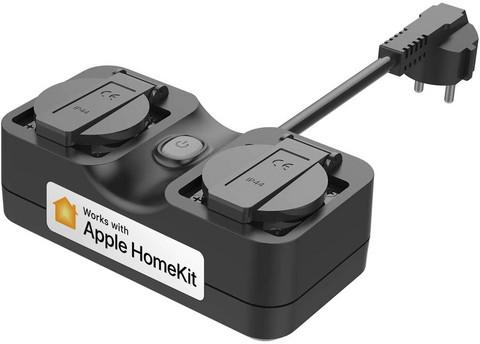 Meross Homekit Smart Outlet älypistorasia ulkokäyttöön