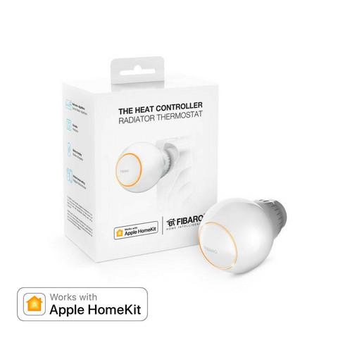 FIBARO - Heat Controller Bluetooth HomeKit - Patteritermostaatti