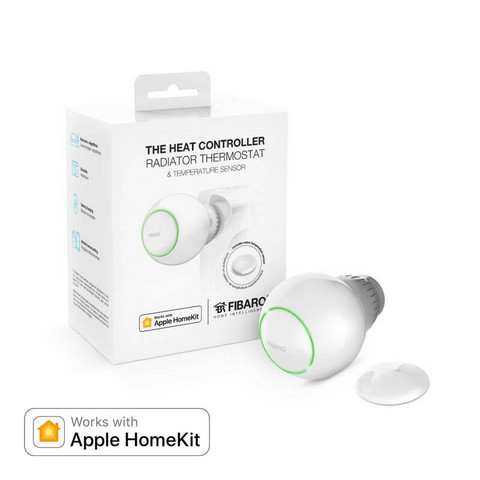 FIBARO - Heat Controller Bluetooth HomeKit - Patteritermostaatti + anturi