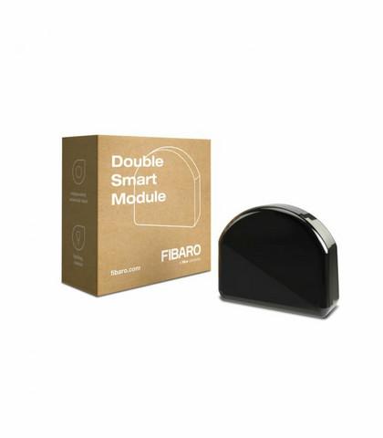 FIBARO - Double Smart Module Z-Wave Plus - Kaksoispainike moduuli