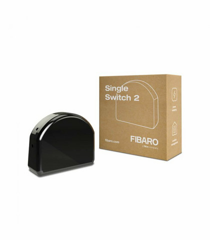 FIBARO - Single Switch 2 Z-Wave Plus - Relemoduuli 1x8A